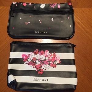 Sephora Cosmetic Bags 💋💄👄